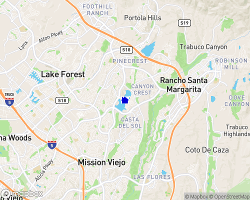 Lake Mission Viejo Map