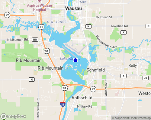 Lake Wausau Map