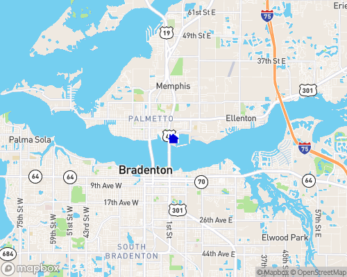 Manatee River Map