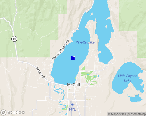 Payette Lake Map