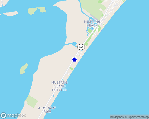 Gulf Coast - Port Aransas Map
