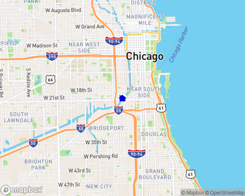 Chicago River Map