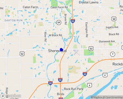 Dupage River Map