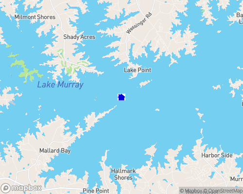 Lake Murray Map