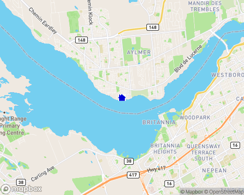 Ottawa River Map