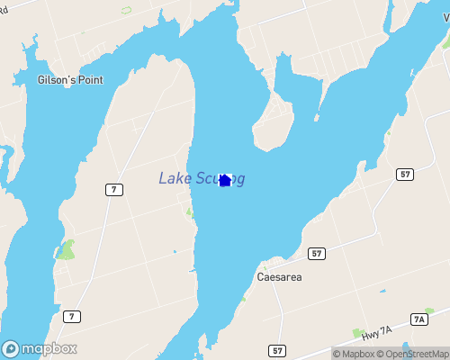 Lake Scugog Map