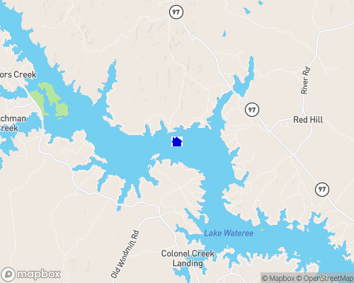 Lake Wateree Map