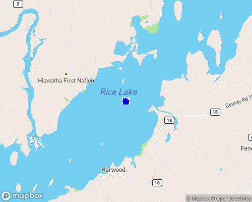 Rice Lake Map