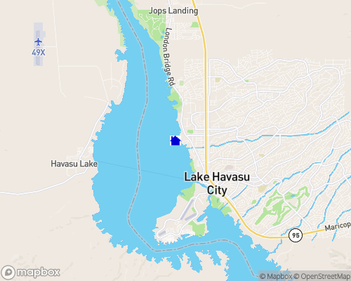 Lake Havasu Map