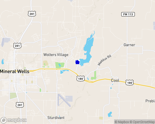 Lake Mineral Wells Map