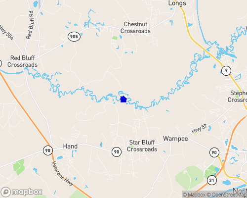 Waccamaw River Map