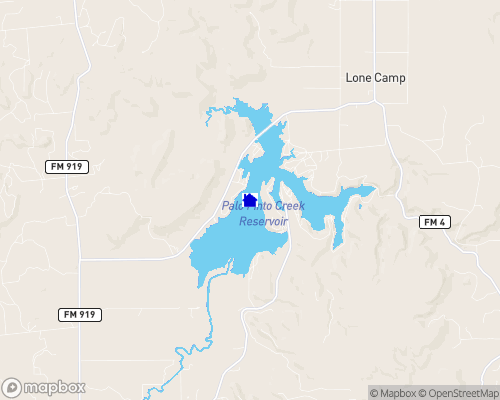 Lake Palo Pinto Map