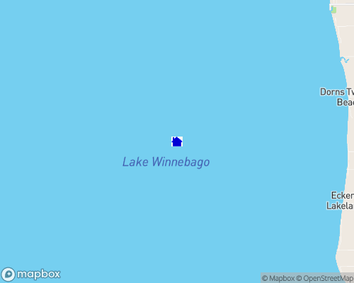 Lake Winnebago Map