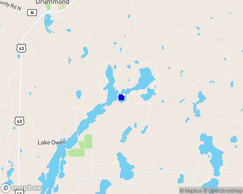 Lake Owen Map